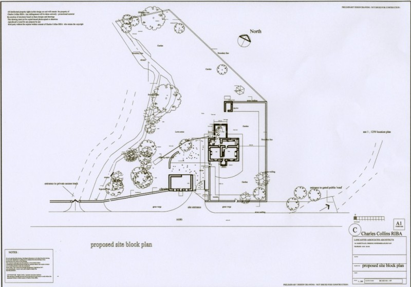 Lancaster associates chartered architects residential for Obtaining blueprints for your home
