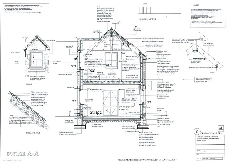 Residential Projects on dormer framing details